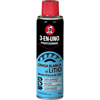 3EN1 GRASA DE LITIO SPRAY 250ML