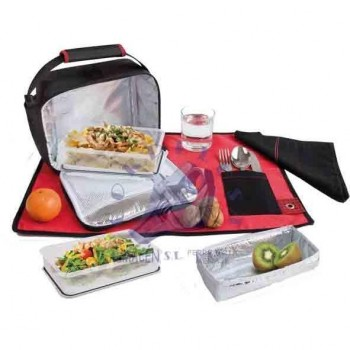 BOLSA TERMICA LUNCH BOX ROJA 9219-T