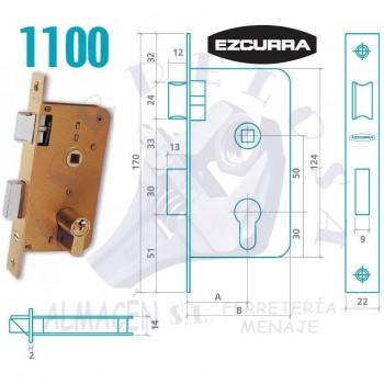 CERRADURA EZCURRA 1100/35 F/LTDO.
