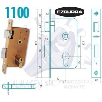 CERRADURA EZCURRA 1100/40 F/LTDO.