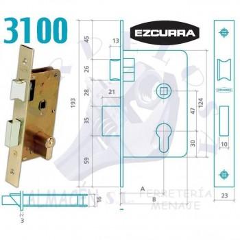 CERRADURA EZCURRA 3100/50 F/LTDO.