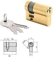 CVL 1/2 CILINDRO 5982T 40/3 LATON