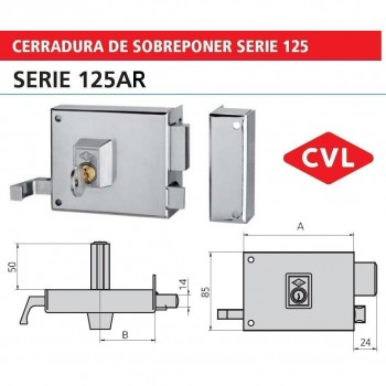 CVL CERR 125AR 10 IZQ NI
