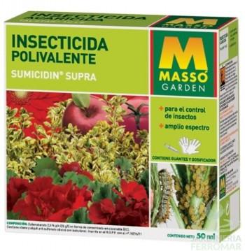 MASSO INSECTICIDA POLIVALENTE 50ML