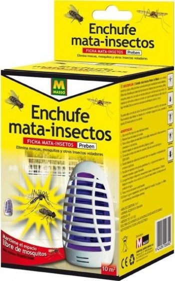 MASSO MATA INSECTOS ELECTRICO 1W